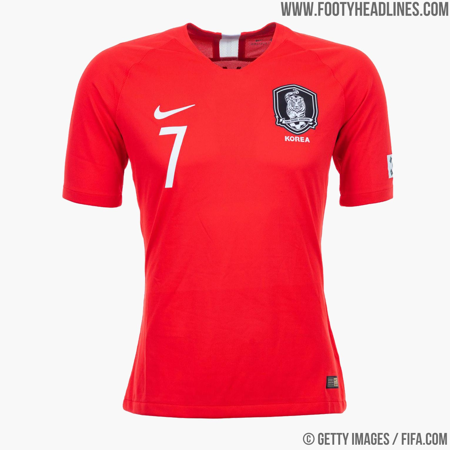 d89376568bd South Korea 2018 World Cup Kit Buy now. Free UK shipping - worldwide  delivery