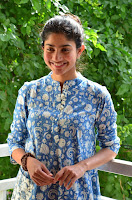 Sai Pallavi looks super cute in plain dress at her interview in Telugu about movie Fidaa ~ Exclusive Celebrities Galleries 007.JPG
