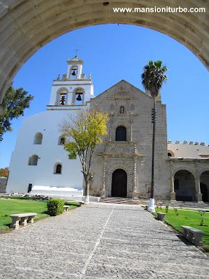 Ex Convento Agustino de Santa Maria Magdalena en Cuitzeo, Michoacán