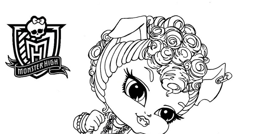 Dibujos Para Colorear De Monster High Para Imprimir: Dibujos Y Plantillas Para Imprimir: Dibujos Monster High