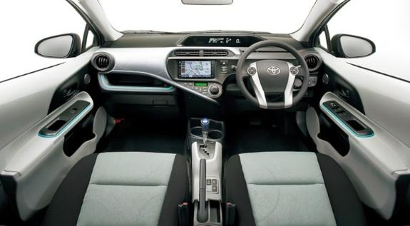 2017 Toyota Aqua Redesign