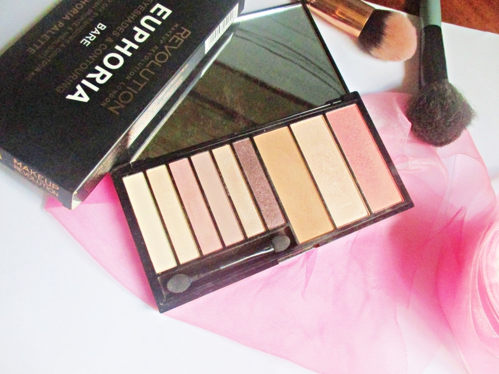 Makeup Revolution Euphoria Pallete – Bare