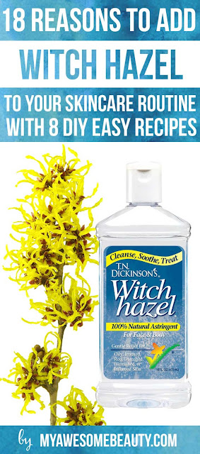 8 reason to add witch hazel to skin routine