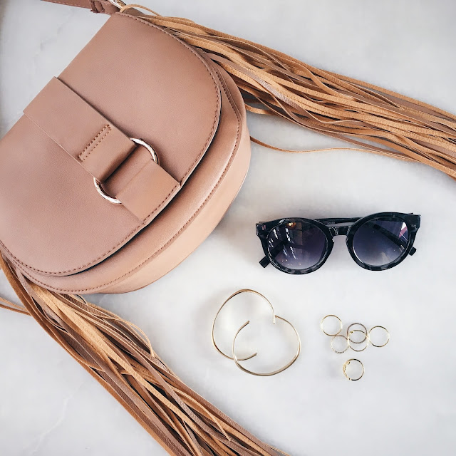 Spring Fringe Bag