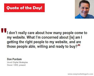 Biz quote by don purdum