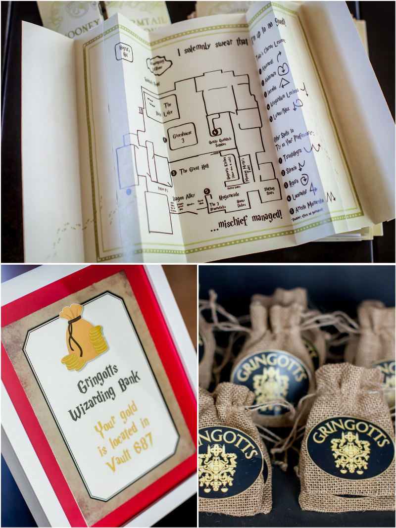 Harry Potter Inspired 9th Birthday Party With Ideas On DIY Decorations Printables Food