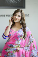 Actress Angela Krislinzki in Pink Saree Blouse Exclusive Pics March 2017 ~  104.JPG