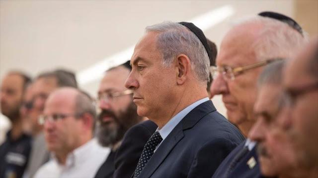 """Netanyahu denuncia """"complot"""" contra él del presidente israelí"""