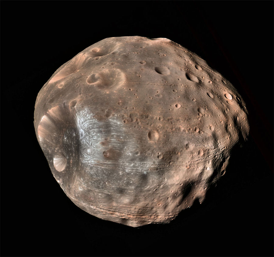 Mars Moon Phobos Captured By Curiosity Rover (Video) |UFO ...