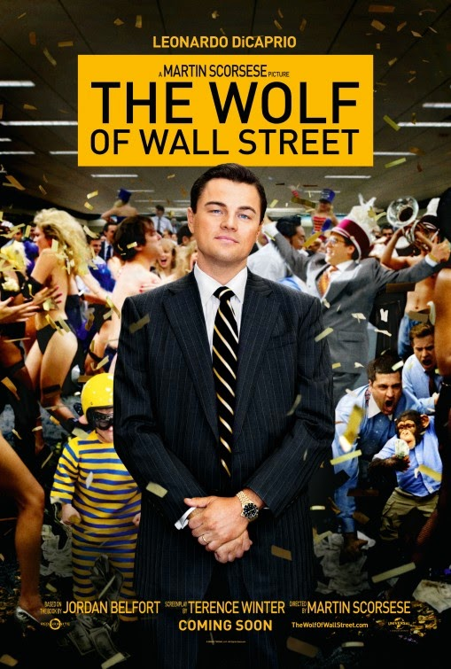 The Wolf of Wall Street - Movie Poster with Leonardo DiCaprio