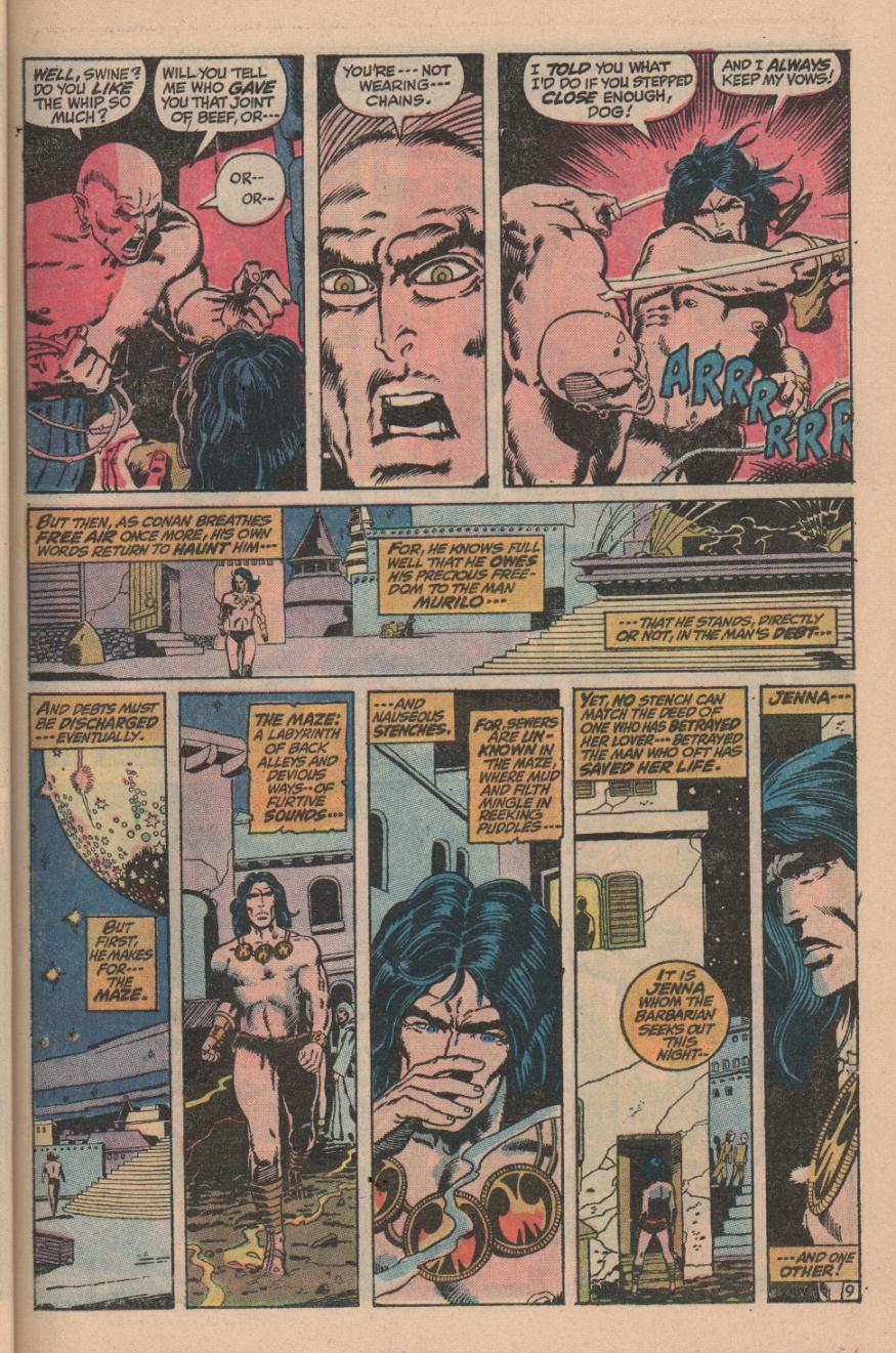 Conan the Barbarian (1970) Issue #11 #23 - English 13