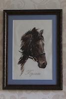 Вышивка крестиком лошади