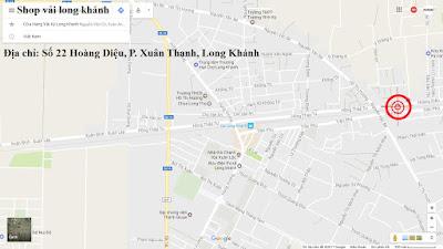 Cửa hàng vải ký Long Khánh
