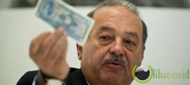 Carlos Slim (ketua eksekutif Telmex, Meksiko)