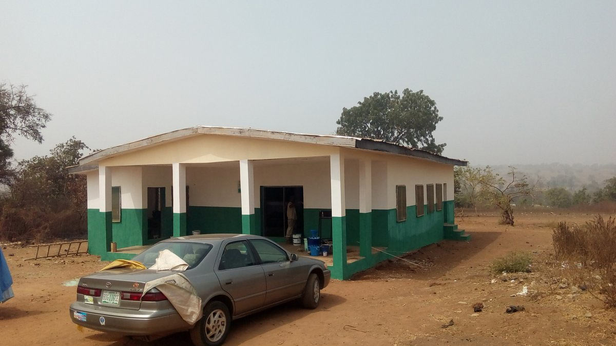 Youth corper renovates health center in Kwara State