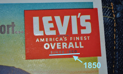 1940s Levi's Logo: America's Finest Overall since 1850
