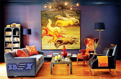 oil painting on canvas, oil paintings, living room wall art