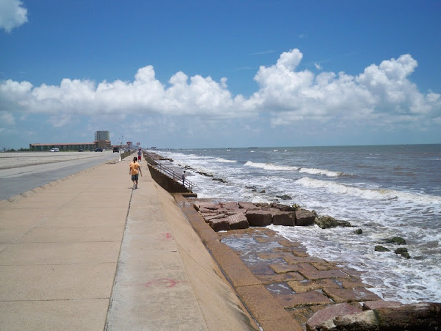 Beach at Galveston Tx