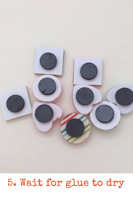 DIY Craft Kit: Glass Marble Magnets