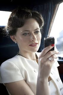 Lara Pulver as Irene Adler BBC Sherlock