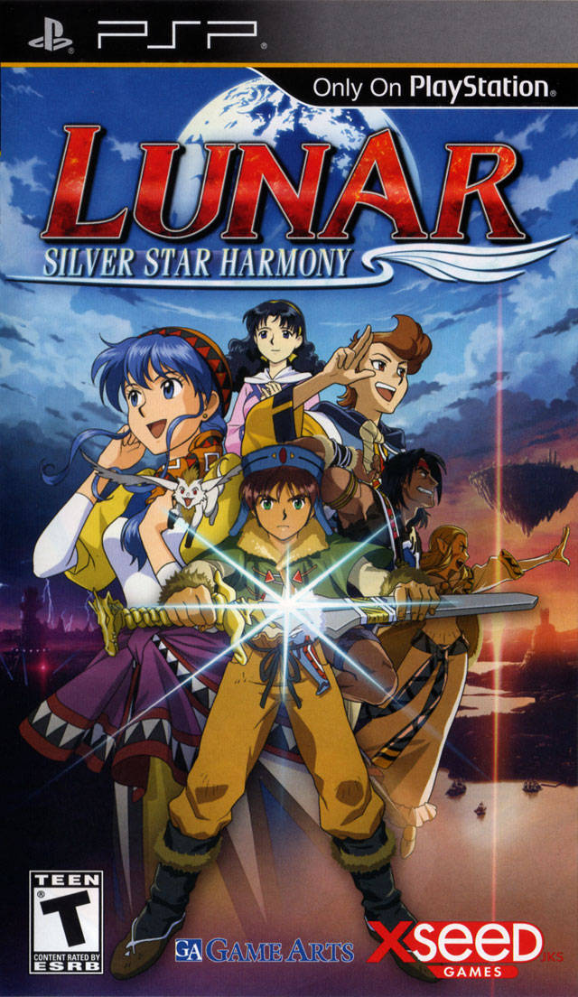 Lunar - Silver Star Harmony - PSP - ISO Download