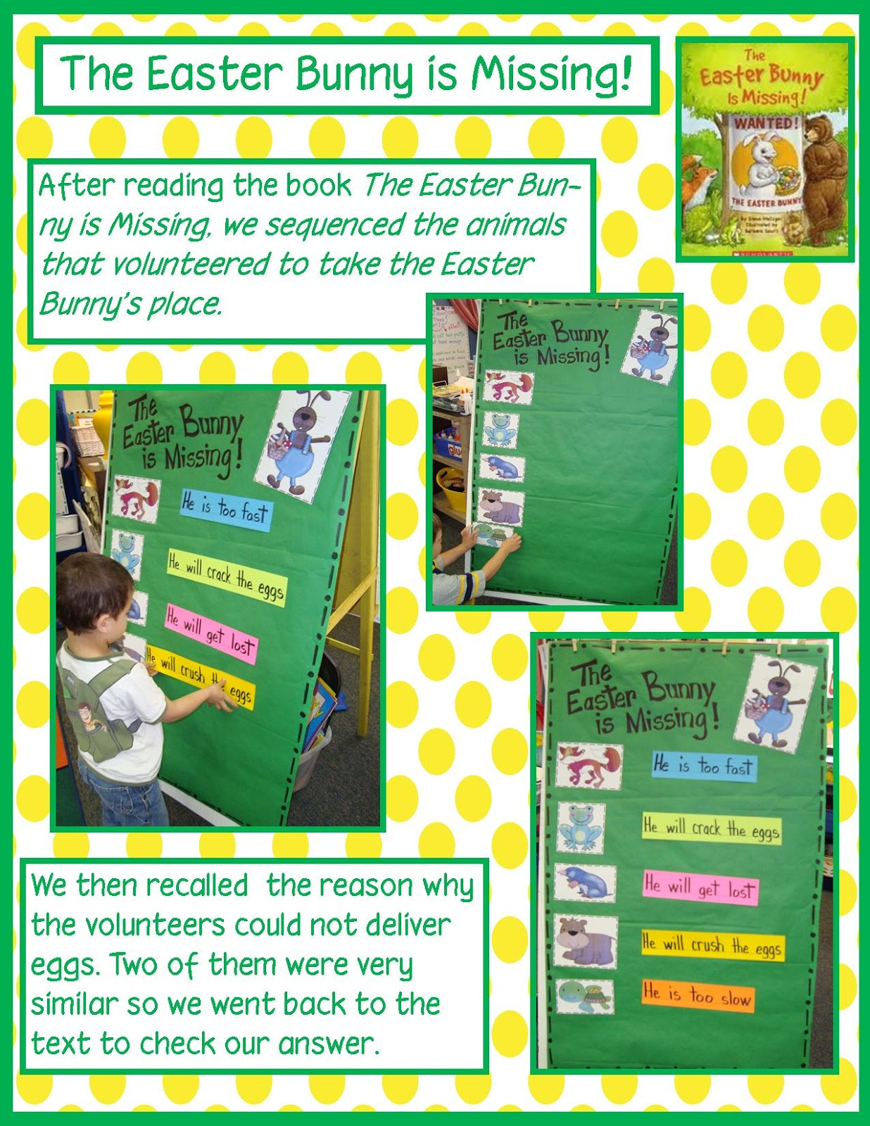 Golden Gang Kindergarten The Easter Bunny Is Missing And