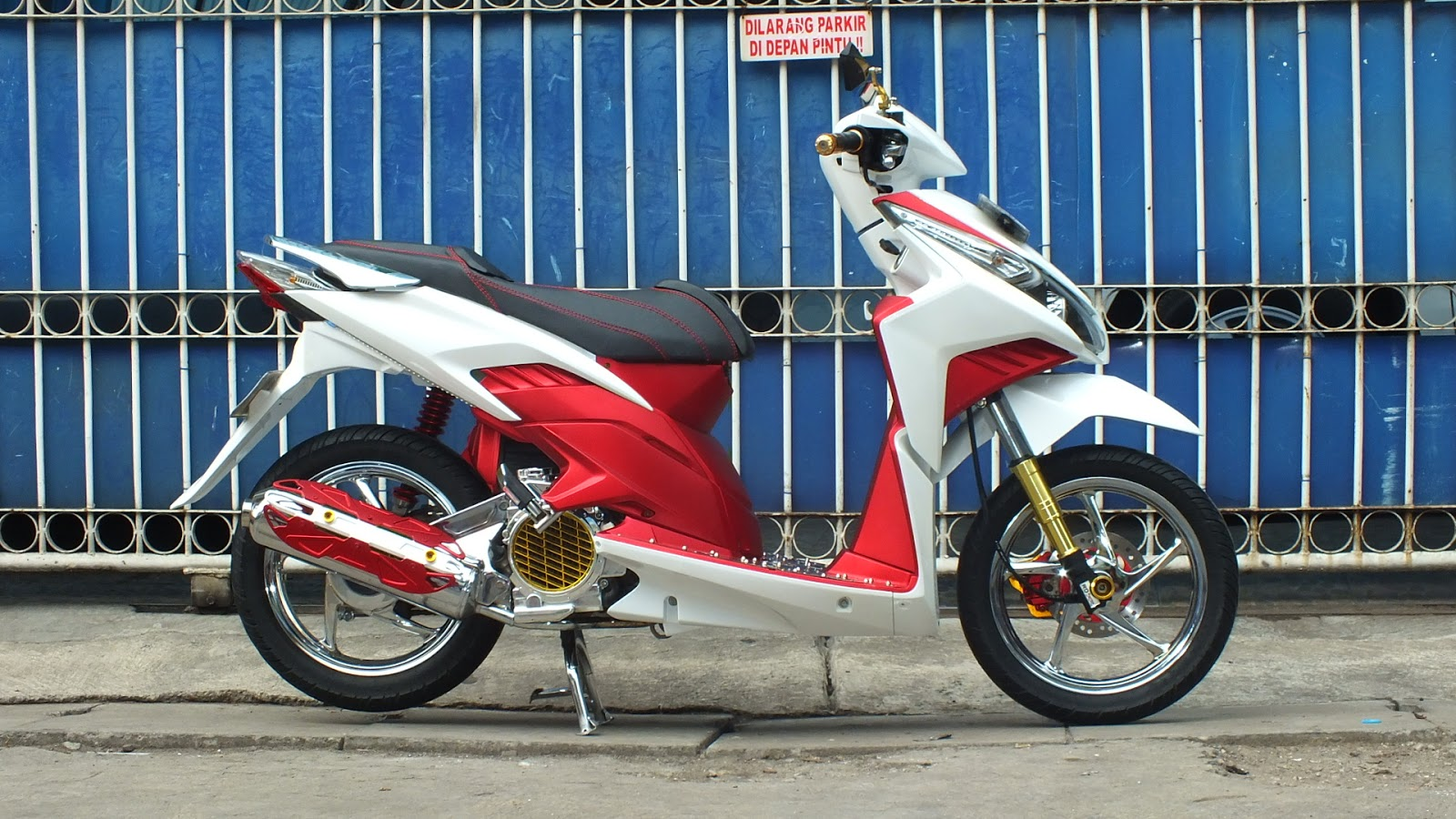Modifikasi Vario Techno 110 Ring 14 Galeri Motor Vario