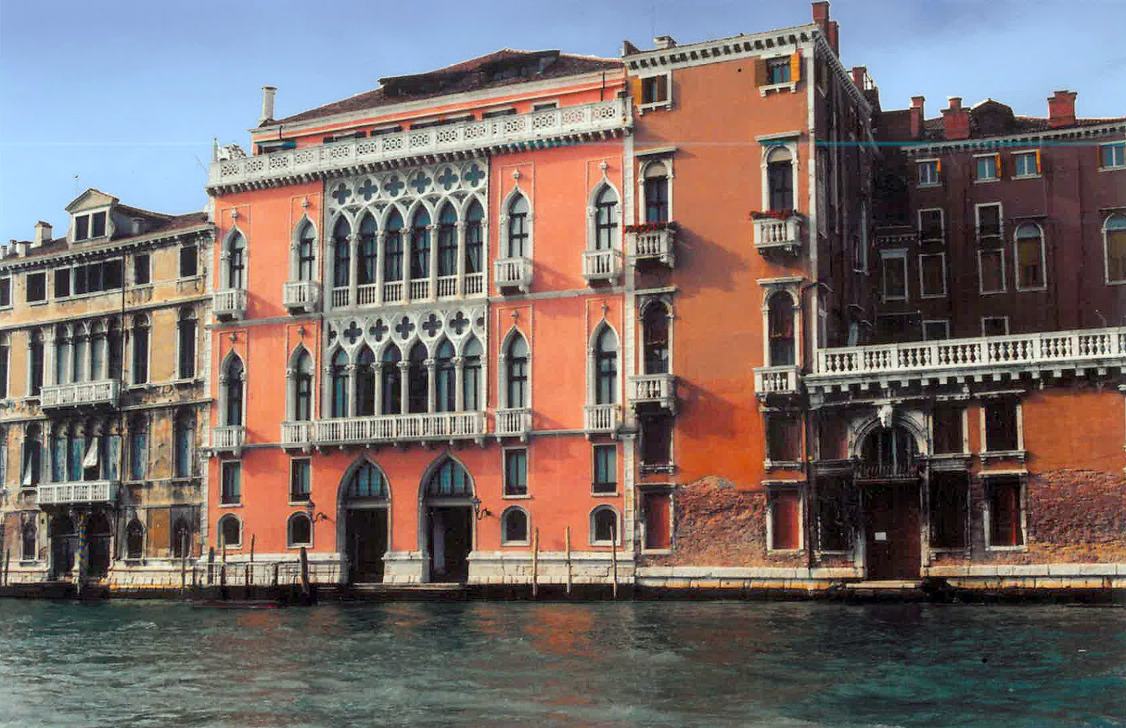 Reference image of the Palazzo Pisani Moretta in Venice Italy