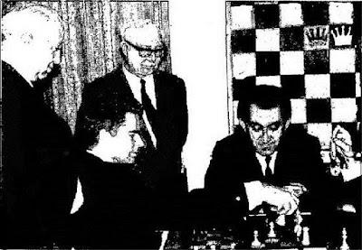 Antonio Romero Ríos en el V Torneo Internacional de Palma de Mallorca 1969