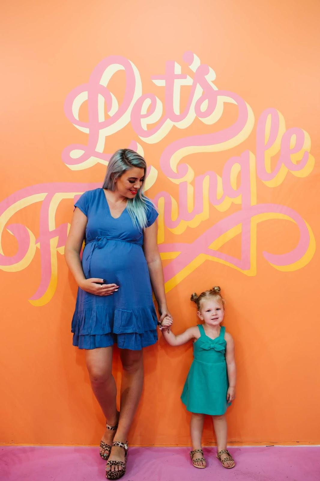 Let's Flamingle, Utah Fashion Blogger, Toddler Dress