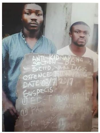 Man Abducts Self, To Receive N60m Ransom From Elder Brother (Photo)