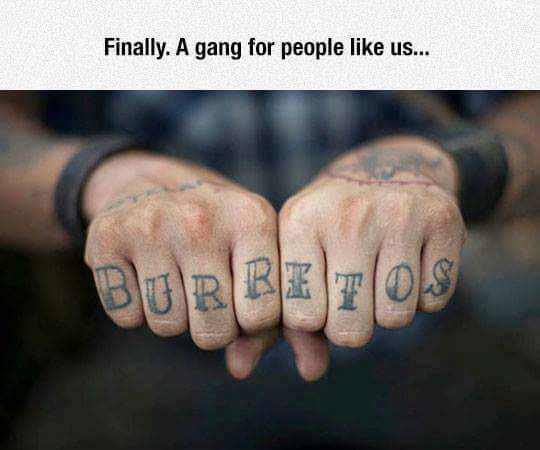 Finally. A gang for people like us.