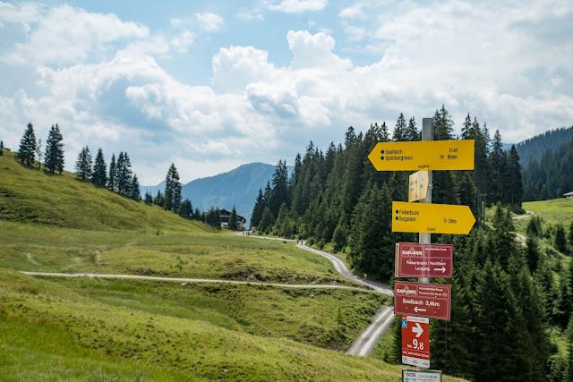Kleberkopf und Spielberghaus  Wandern in Saalbach 12