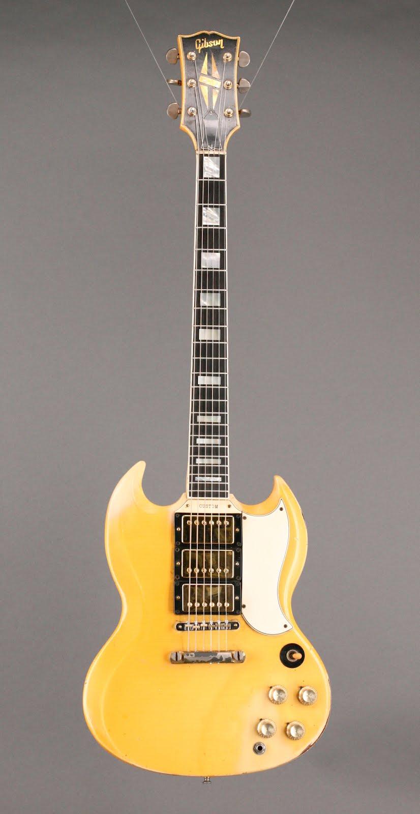 guitars a go go 1965 gibson sg custom. Black Bedroom Furniture Sets. Home Design Ideas