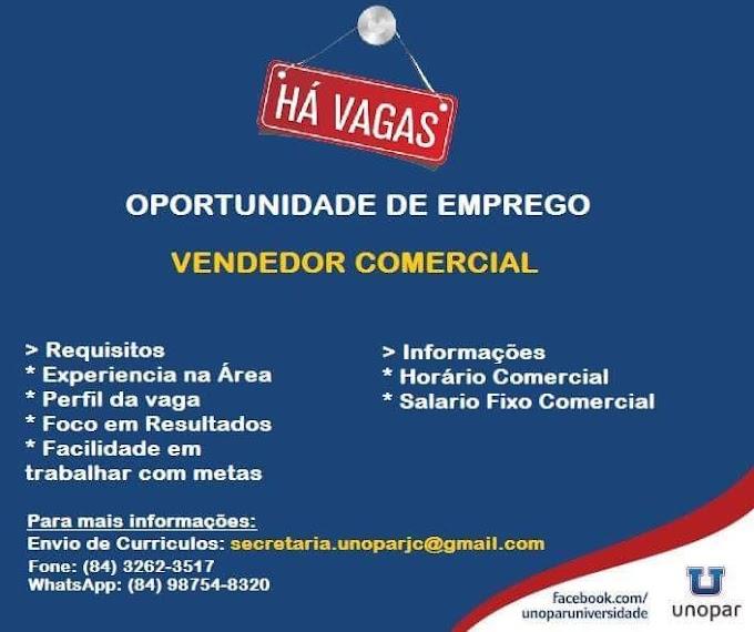 João Câmara: Oportunidade de Emprego!