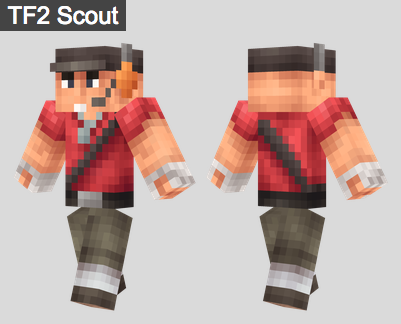 30. TF2 Scout Skin