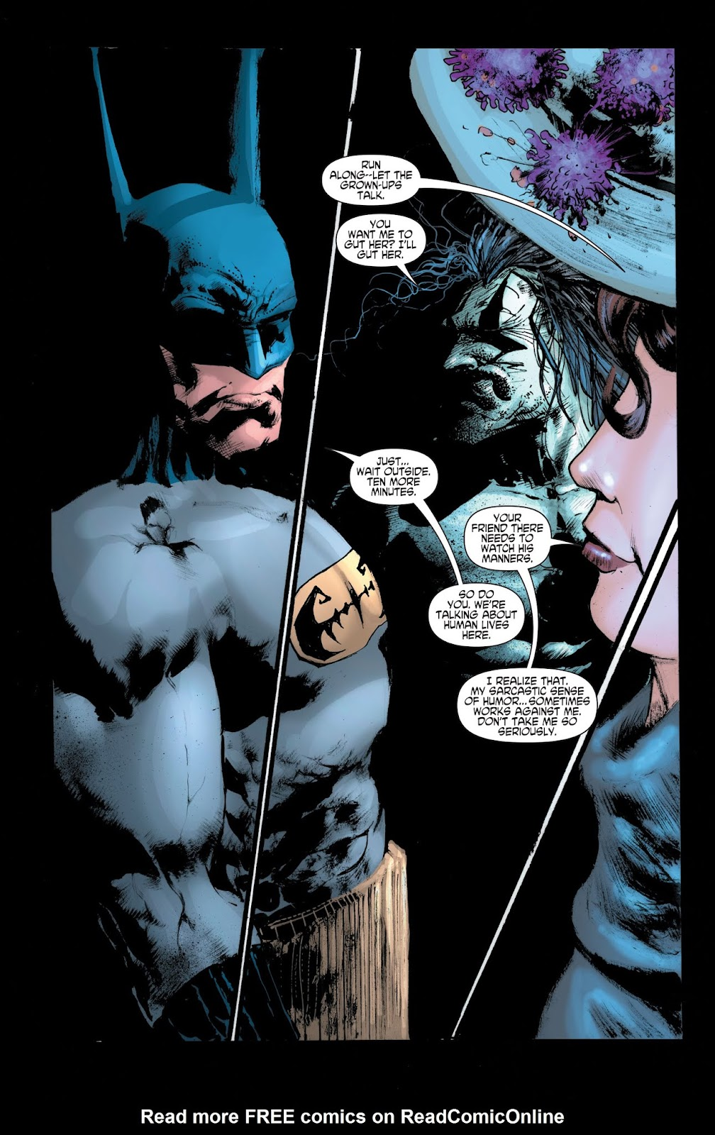 Read online Batman: Ghosts comic -  Issue # TPB (Part 2) - 45