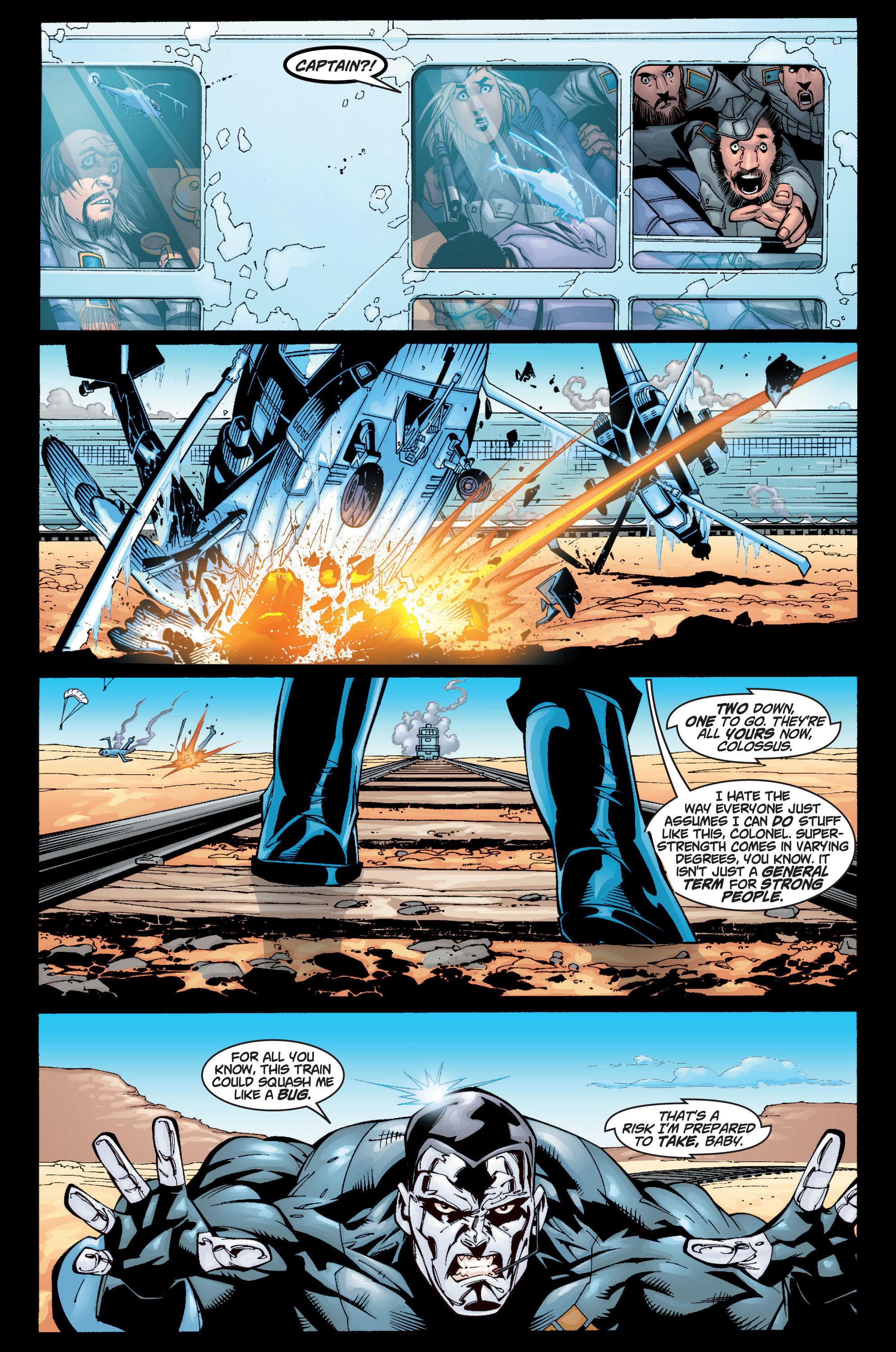 Read online Ultimate X-Men comic -  Issue #10 - 7