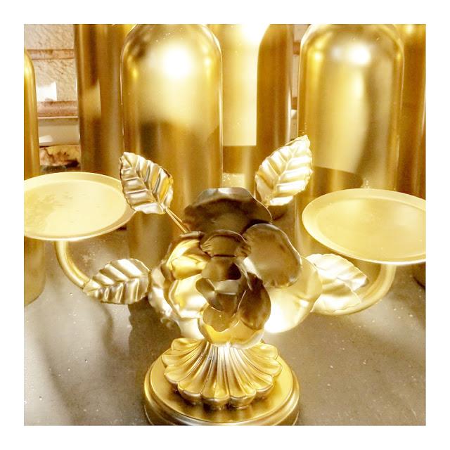 Stunning DIY Bridal Shower Wine Bottles Centerpiece