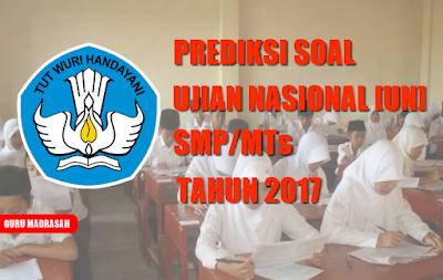 prediksi soal un smp/mts tahun 2017
