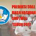 Prediksi dan Pembahasan Soal UN SMP/MTs Tahun Pelajaran 2016/2017