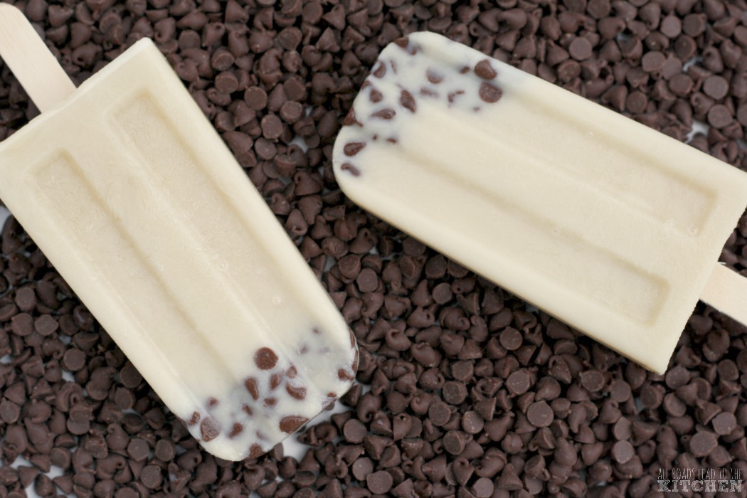 Invisible Cookie Dough Ice Pops