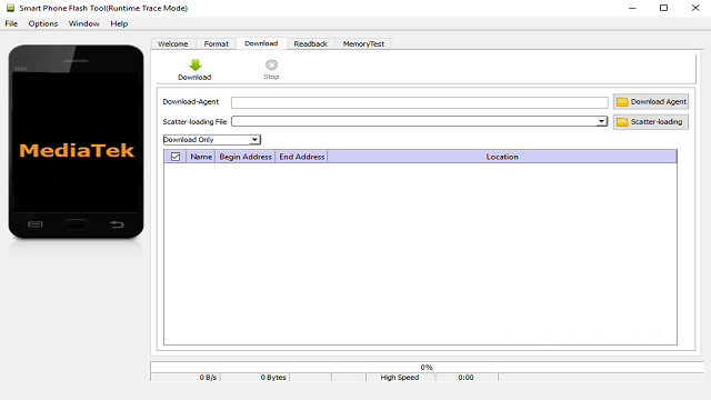 Descargar SP Flash Tool v5.1816