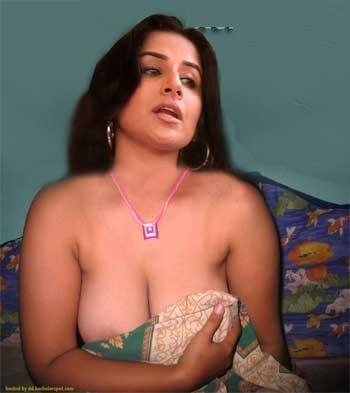 Bollywood boobs out
