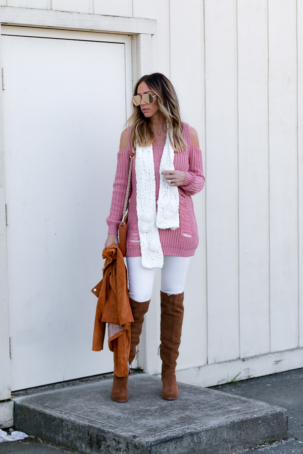 cute girly winter outfit