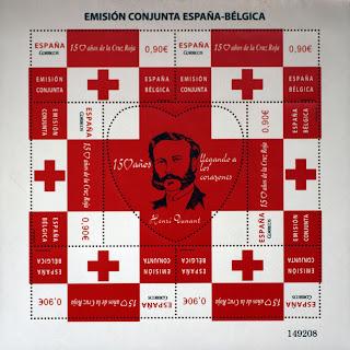 EMISIÓN CONJUNTA 2013 ESPAÑA-BÉLGICA