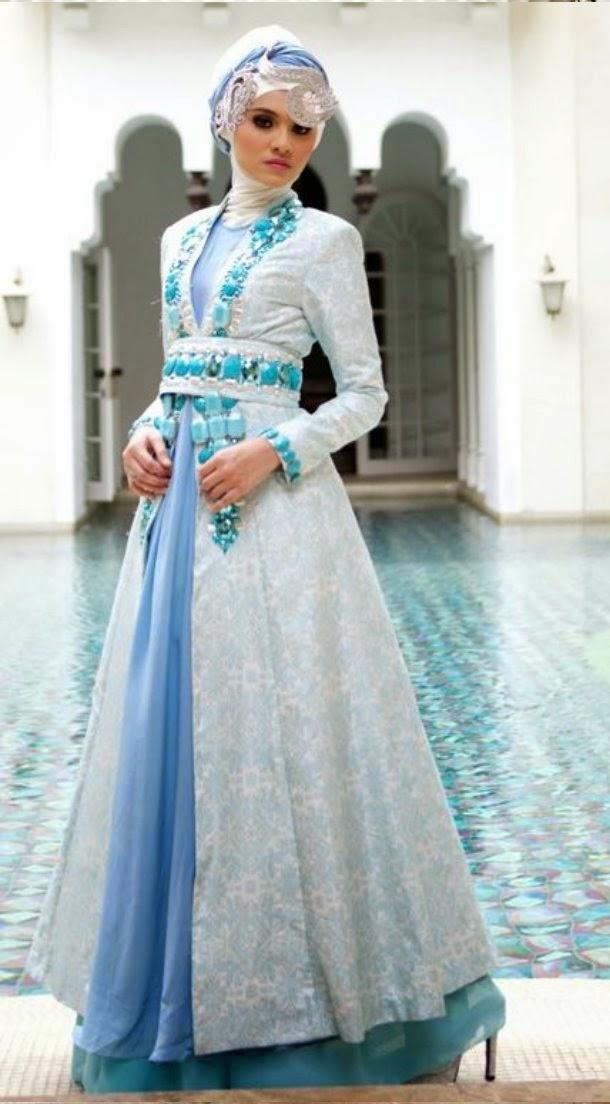 Baju Kebaya Modern Muslim Mengikuti Trend Kekinian Desain Kebaya
