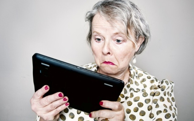 E - banking, γιαγιά!