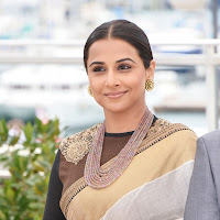 Splendid hot sexy Vidya balan sexy in saree at 66th cannes film festival 2013