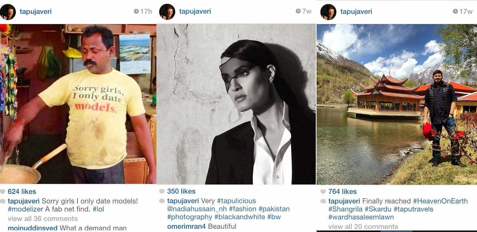 Pakistani Instagrammers Igers Pakistan - Tapu Javeri
